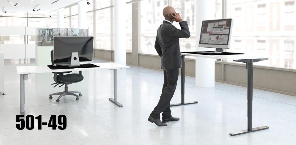 Ergonomic Height Adjustable Standing Desks Conset